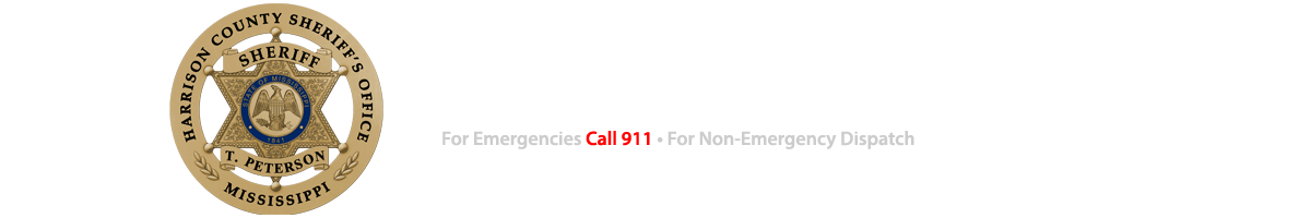 Daily Jail Count - Harrison County Sheriff's Office